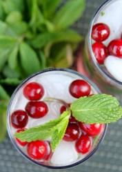 Mint Cranberry Rum