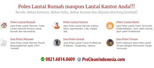 Jasa Poles Lantai di Medan