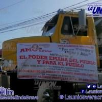 Transportistas cierran la carretera Veracruz-Medellín.