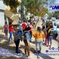 Vecinos se organizan para defender su derecho al agua, en Lagos de Puente Moreno.