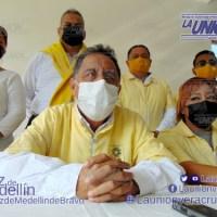 Alianza PRI-PAN deja fuera a perredistas de Medellín.