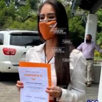 Se registra Sofía Yunes como candidata a diputada por el distrito XVII Medellín.