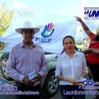 Candidatos del Partido Unidad Ciudadana realizan recorrido en El Tejar.