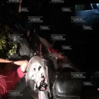 Accidente en la carretera Paso del Toro-Alvarado.