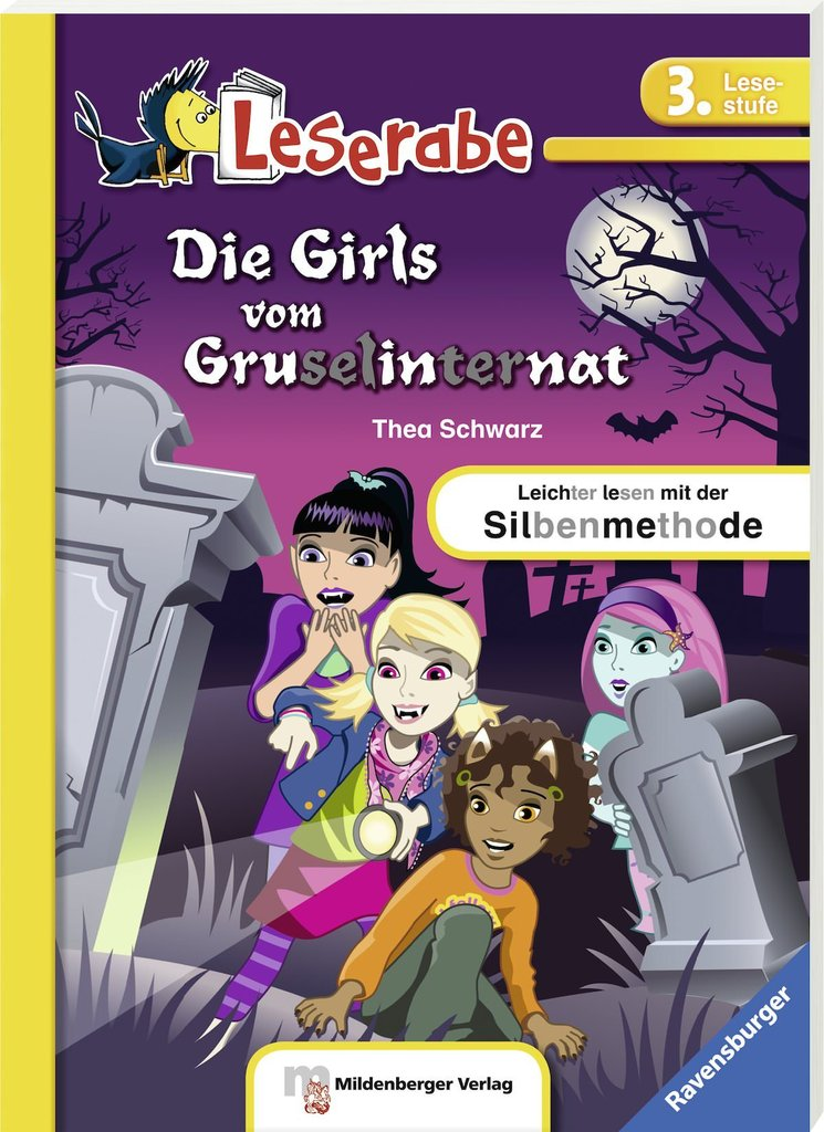 Leserabe Lesestufe 3 Die Girls Vom Gruselinternat Softcover