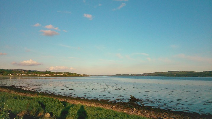 Another evening by the Clyde