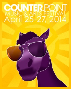 CounterPoint Music Festival Poster Design Contest entry