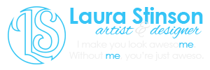 Laura Stinson: I make you look awesome. Without me, you're just aweso.