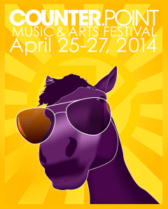 CounterPoint Music Festival Poster Concept