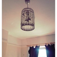 Birdcage Lampshade!
