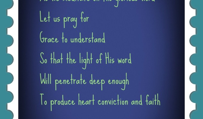 Grace Be Multiplied