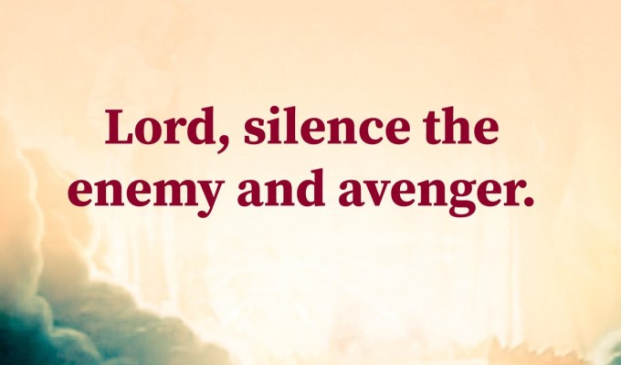 Silence The Enemy And The Avenger