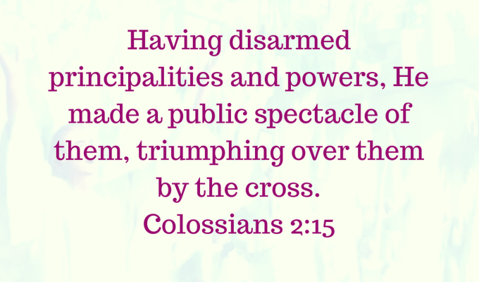 Jesus Defeated Powers And Gods