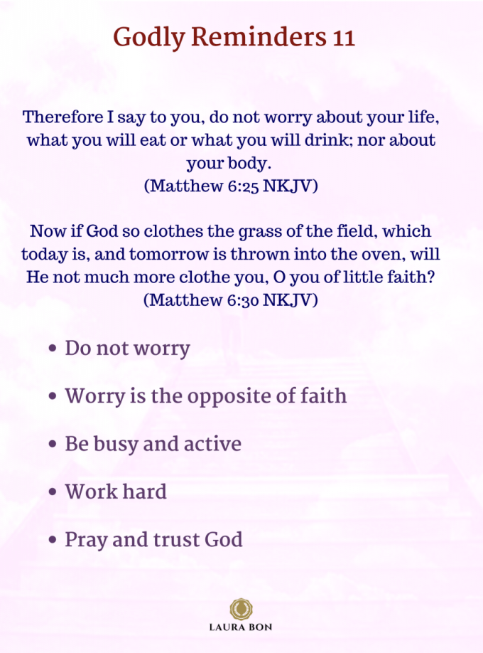 Copy of Therefore I say to you, do not worry about your life, what you will eat or what you will drink- nor about your body (Matthew 6_25 NKJV)