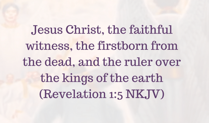 Ruler Of The Kings Of The Earth.