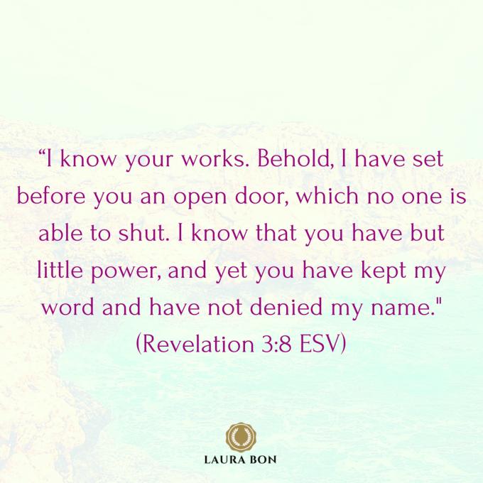 (Revelation 3_8 ESV)