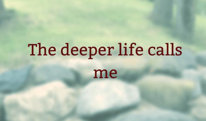 The Deep Calls