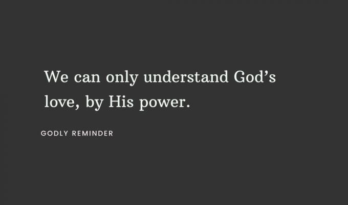 Power To Understand