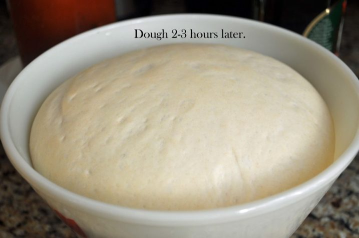 Homemade Pizza Dough Recipe www.laurabraydesigns.com