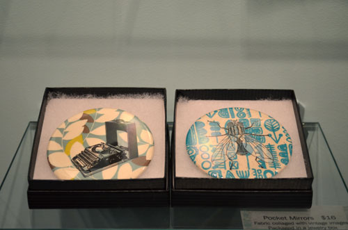 One of a kind show vancouver 2011 - Laura Bucci pocket mirrors