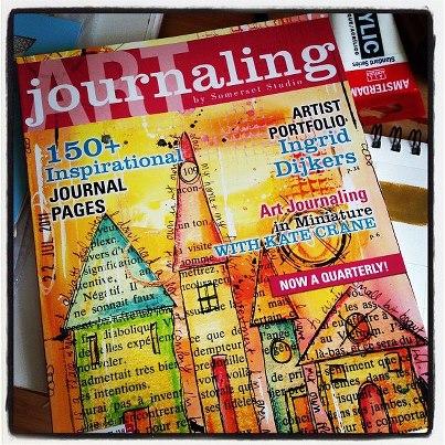 art journaling - somerset stdio