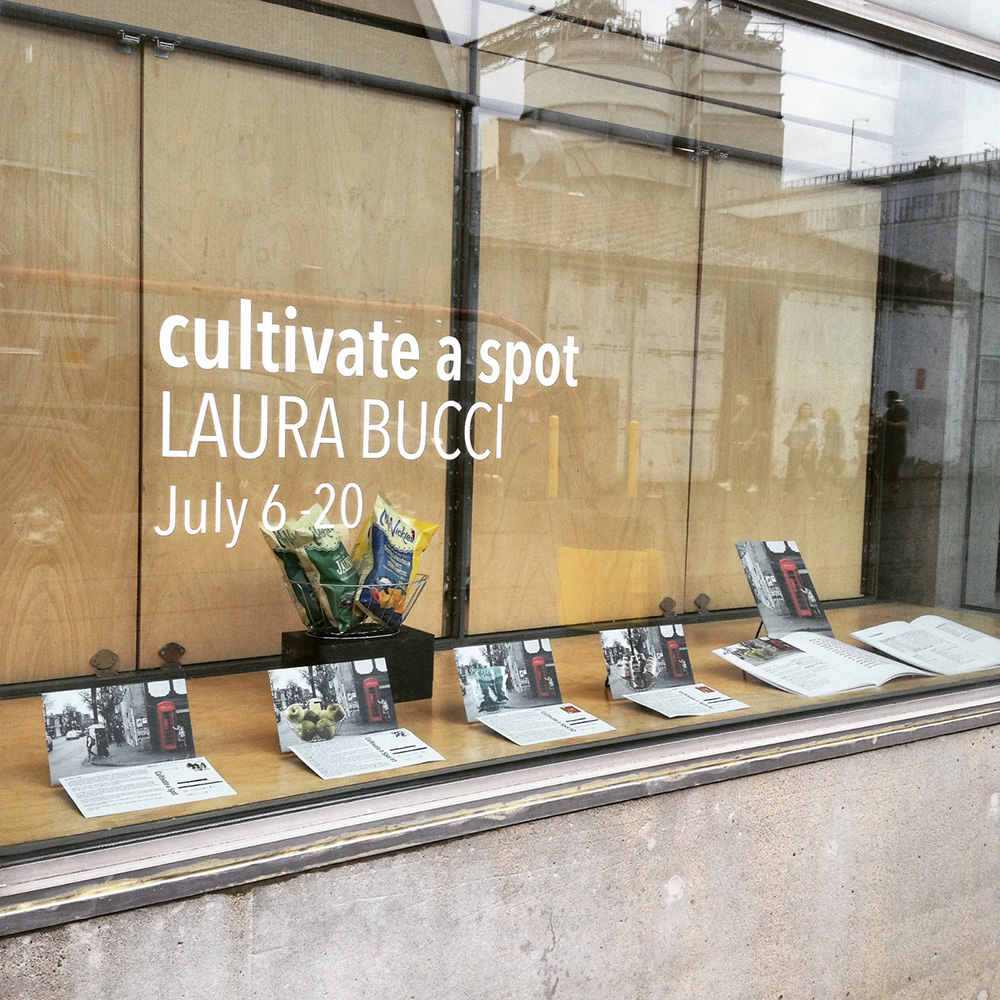 Cultivate a Spot at Emily Carr University, Library Window Gallery