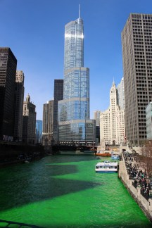 Río Chicago - St Patrick´s Day 2017