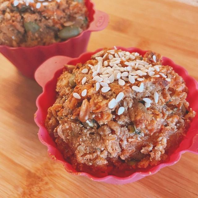 Morning Glory Muffins gluten free sugar free