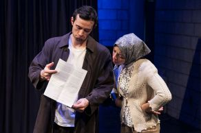"""Three Gifts for Lenny Bruce A play by Jim Knable adapted from """"The Three Gifts"""" by Y.L. Peretz Directed by Susan Hyon"""