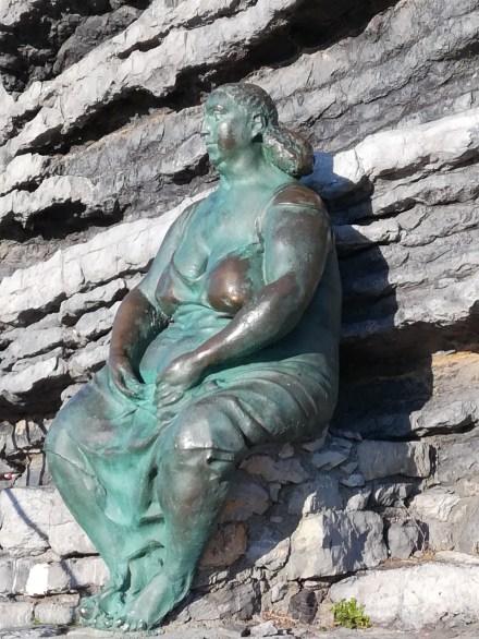 Mater Naturae by Lello Scorzelli, near Byron's Cave, Porto Venere, I