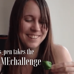 Laura's Pen takes the chilli ME challenge for Invest in ME