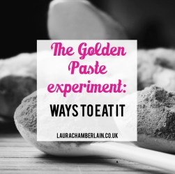 The golden paste experiment: ways to eat it and hide the taste