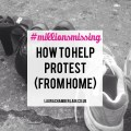 How to help the millions missing protest, from home