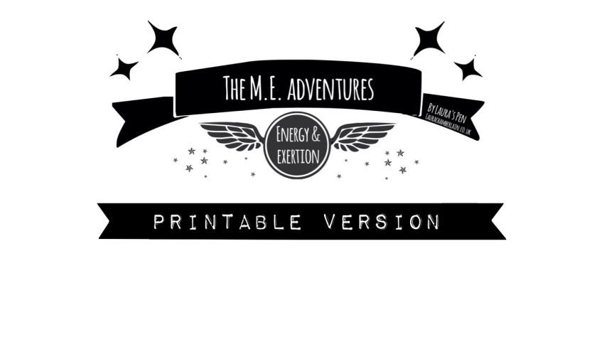 """A printable version of my comic """"The ME adventures"""""""