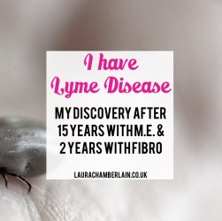 I discovered I had Lyme disease after spending half my life with ME