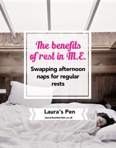 The benefits of rest in ME/CFS, rather than one long nap or pushing through