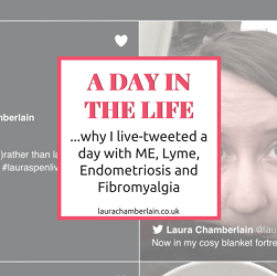 Why I live-tweeted a day with ME/CFS, Lyme disease, Endometriosis and Fibromyalgi