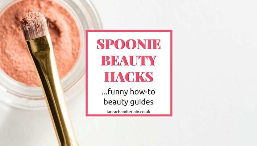 Spoonie Beauty Hacks banner