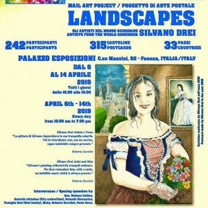 """Mail Art """"Landscapes"""" in Faenza"""