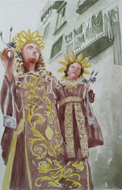 Napoli in-devozione: Esce la Madonna