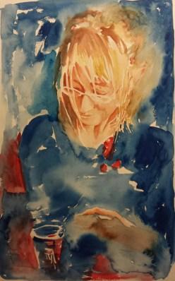 Ritratto in blu