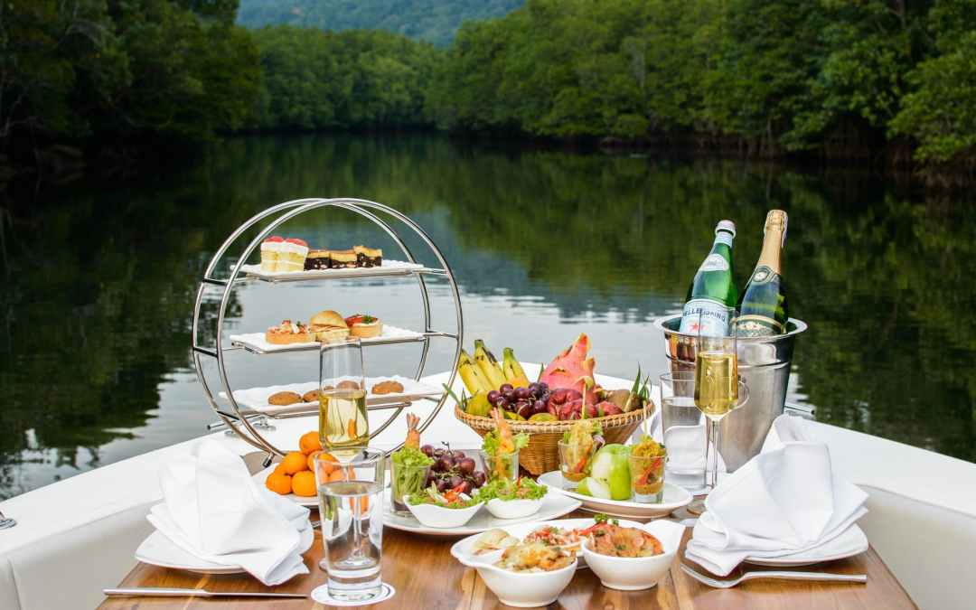 Food on a boat, Laura Cooke Consulting, business manager, Scotch Creek BC