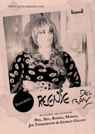 KSKKK flyer featuring Charlotte Victoria Furness Reenie del Ray. Designed by Tom Jackson