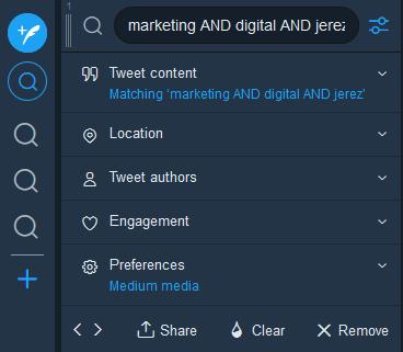tweetdeck para monitorizar a la competencia