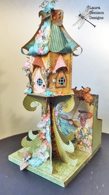 Thumbelina House, Mermaid House Base and Mini Album