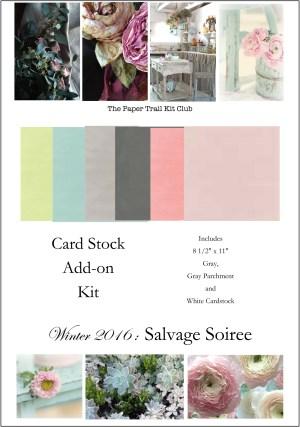 winter 2016 cardstock kit