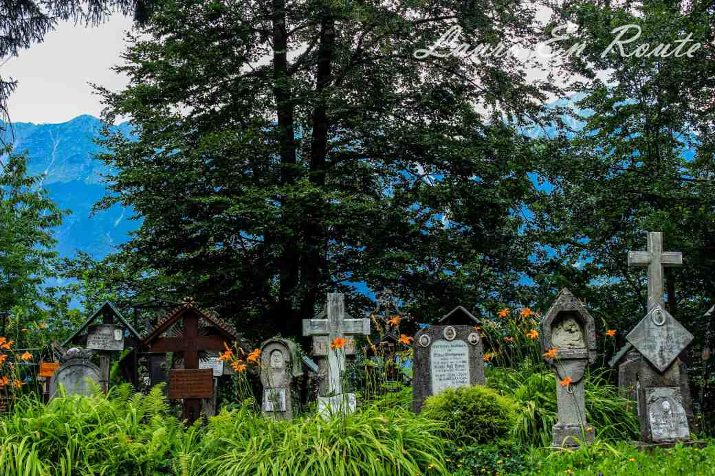 cemetery outside of Innsbruck
