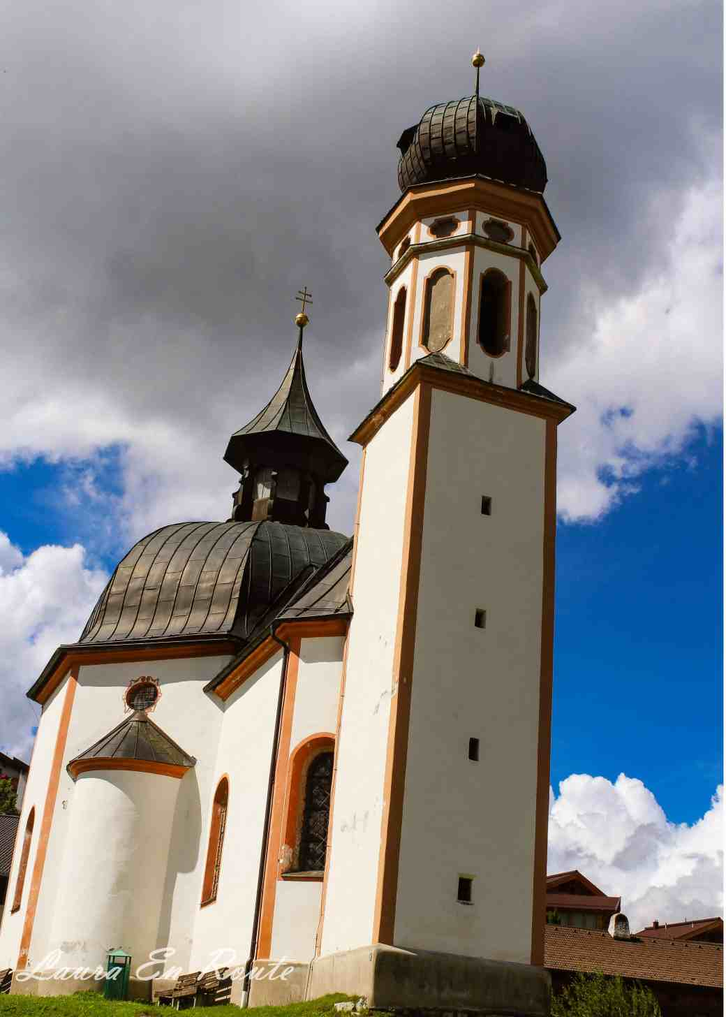 Parish Church of St. Oswald in Seefeld, Austria