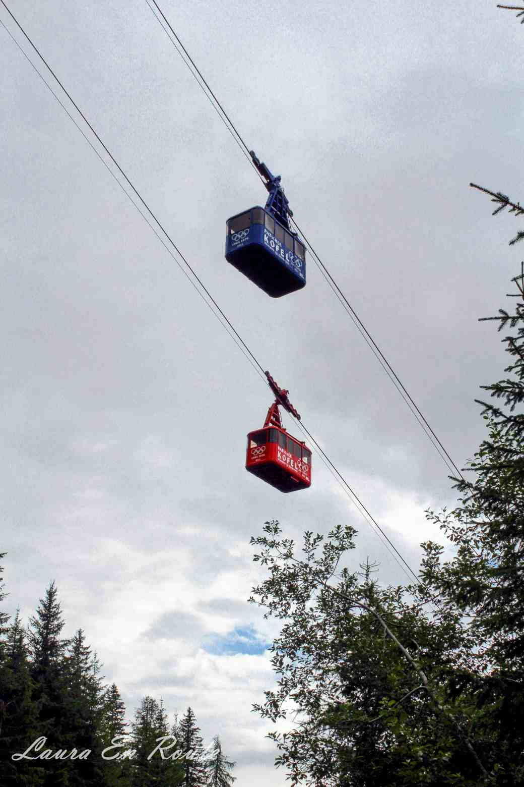 Cable Cars to Patscherkofel