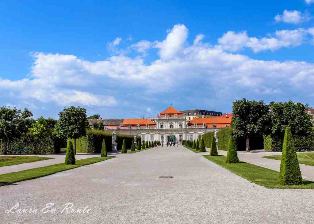 Belvedere Palace, Vienna - www.lauraenroute.com